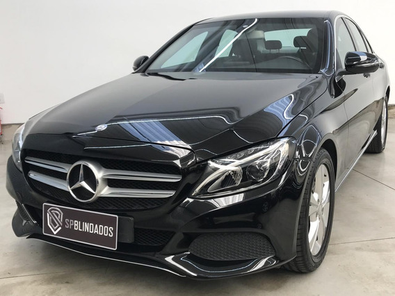 Mercedes C180 Avantgarde 1.6t 2016 Blindada Avallon Niiia
