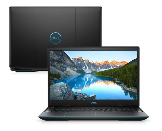 Notebook Dell G3 I5 9300h 16gb Ssd256gb Hd 1tb Gtx 3gb Win10