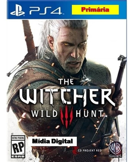 The Witcher 3 Ps4 I Primaria - Português