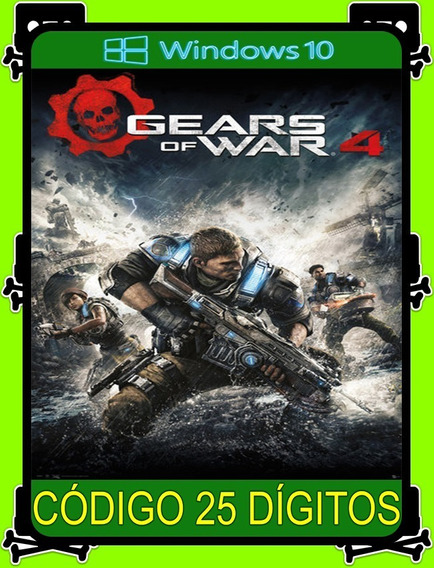 Gears Of War 4 Português Pc - 100% Original (windows 10 Key)