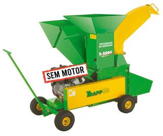 Triturador De Galhos, Troncos Etc. S/ Motor Trapp Tr 500