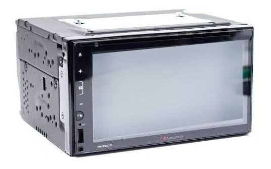 Dvd Player Nakamichi Na-3600 6.8 Wvga 2din Aux/ Usb/ Bt