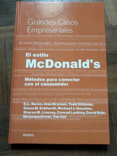 Libro Coleccion Grandes Casos Empresariales Mcdonnald