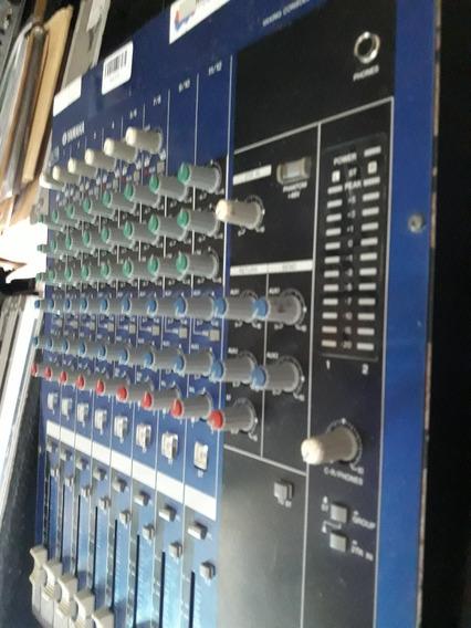 Mesa Yamaha Mg 12/4 - 12 Canais
