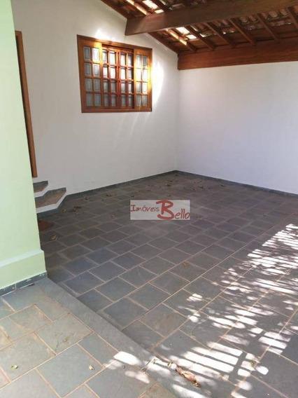 Casa Para Alugar, 179 M² Por R$ 1.800,00/mês - Recanto Do Parque - Itatiba/sp - Ca1254