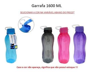 Garrafa Squeeze Plástico Grande 1,6 Litros Esportes Academia