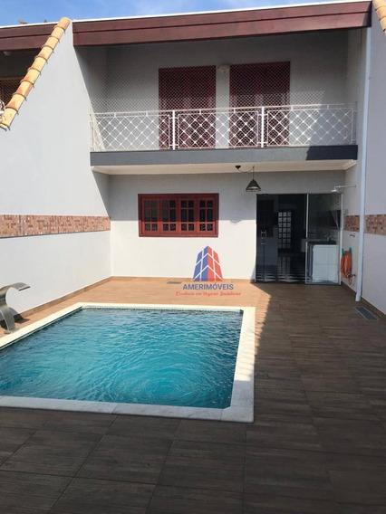 Sobrado Com 3 Dormitórios Para Alugar, 200 M² Por R$ 2.700,00/mês - Residencial Horto Florestal Jacyra I - Americana/sp - So0276