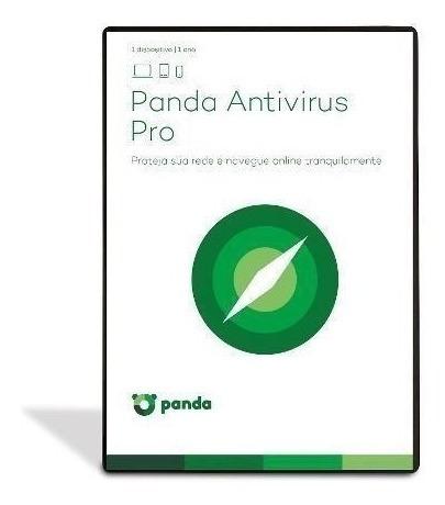Panda Antivirus Pro 1 Ano 5 Pc .... Leia Com Atencao!