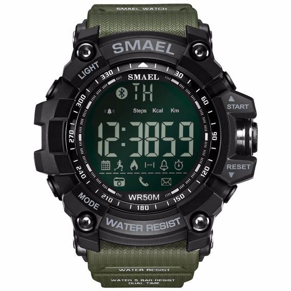 Smael Lujo Marca Inteligente Reloj Verde