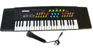 Piano Musical Teclado Musical Niños C/ Micrófono 26teclas