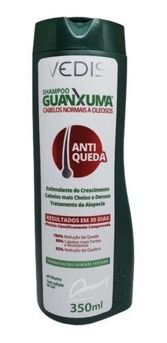 Shampoo Antiqueda Guanxuma Vedis Tratamento Alopécia