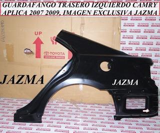 Guardafango Trasero Izquierdo Camry 2007 2009 Original