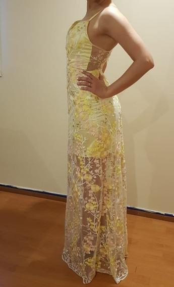 Vestido De Fiesta Alta Costura Levaska By Popic
