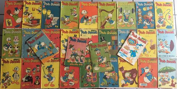 31 Revistas - O Pato Donald - Anos 60 (antigas)