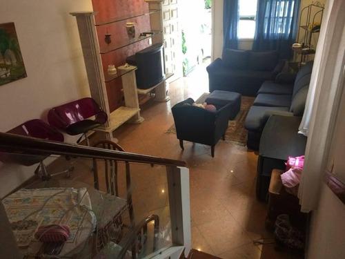 Imagem 1 de 8 de Lindo Sobrado À Venda - 3 Dormitórios - 2 Vagas - Taboão - São Bernardo Do Campo - Sp - 55036