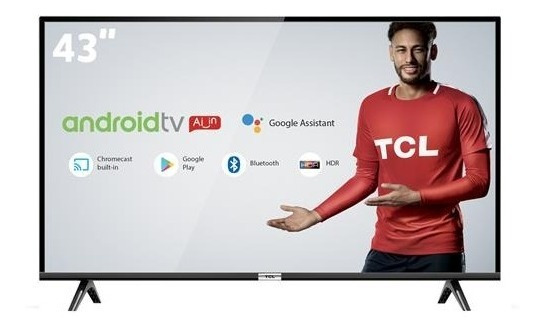 Smart Tv Led 43 Tcl Full Hd L43s4900fs 3 Hdmi Nova Na Caixa