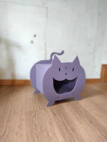 Imagen 1 de 6 de Cucha Y Entretenimiento Para Gatos