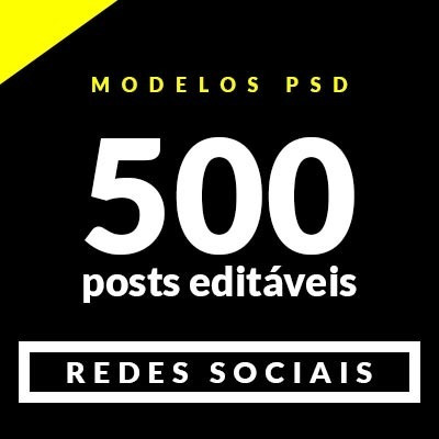 500 Modelos Frases / Mensagens Editáveis Para Redes Sociais