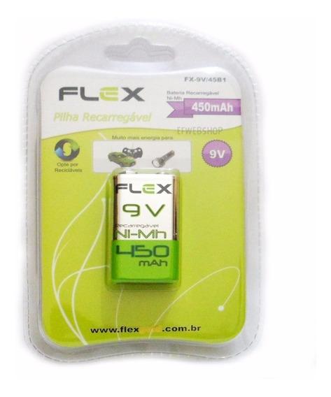 Bateria Recarregavel 9v 450mah X-cell - Original (blister)