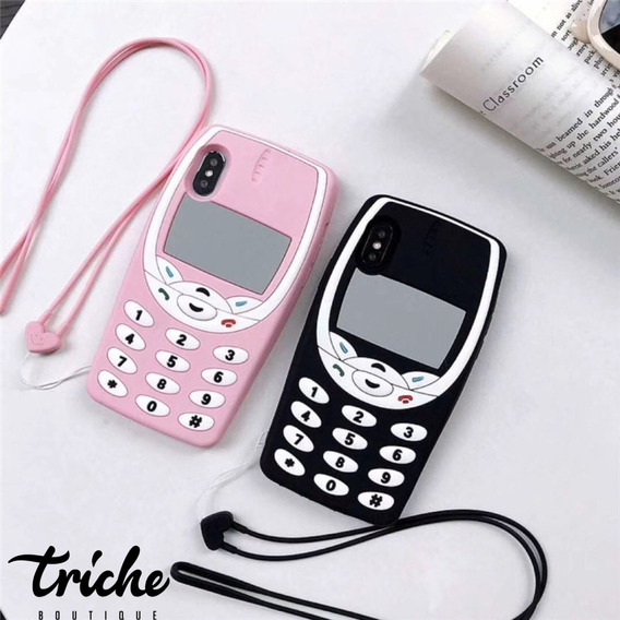Funda Celular Retro 90s iPhone 6 6s 7 8 7+ 8+ X Xr Xs Max