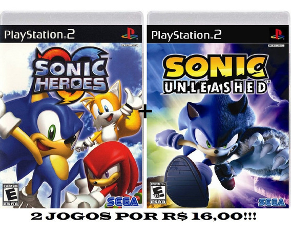Sonic Heroes + Sonic Unleashed Para Play 2