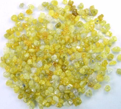 5 Cuentas De Diamante 100% Natural Perforado Para Pulsera