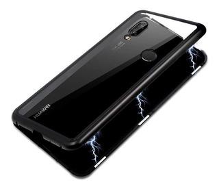 Funda Magnética Metálica Huawei P20 Lite Y P20 Pro + Envio