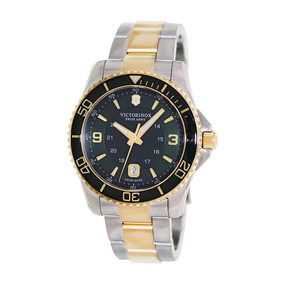 Relógio Victorinox 241605 Maverick Gs Large Bicolor Original