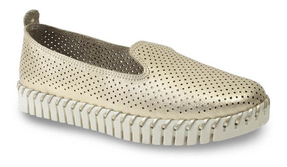 Sapato Bottero 315625 Couro Perfuros A Laser Feminino