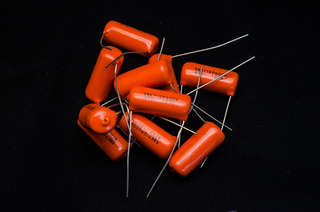 Capacitor Orange Drop Para Guitarra O Bajo Eléctrico