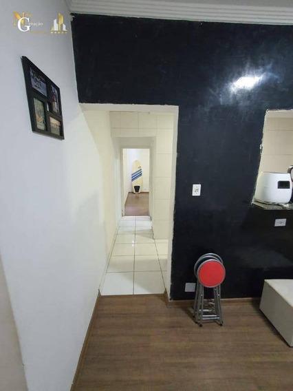 Apartamento Com 1 Dormitório À Venda, 44 M² Por R$ 110.000,00 - Vila Guilhermina - Praia Grande/sp - Ap2536