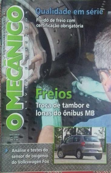 Revista - O Mecânico Leves E Pesados - Freios