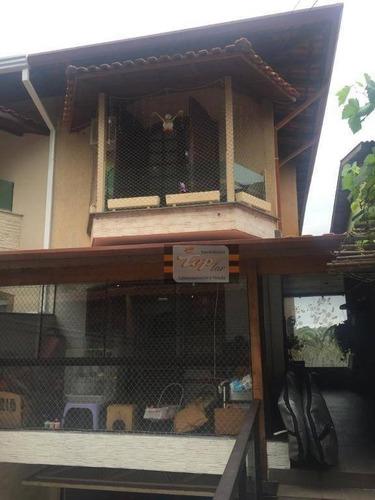 Sobrado Com 3 Dormitórios À Venda, 239 M² Por R$ 1.200.000 - Jardim Regina - São Paulo/sp - So0781