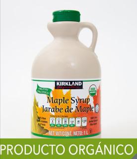 Jarabe De Maple Orgánico Kirkland 1 Litro Arce Syrup