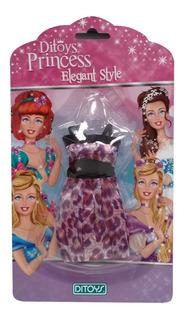 Ropa Fashion Para Muñecas Princesas Lila (5605)