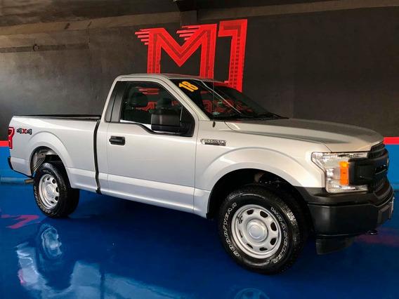 Ford F-150 Xl Cab Reg At V6 4x4 2018 Plata $ 425,000
