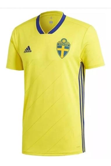 Camiseta Selección De Suecia Titular