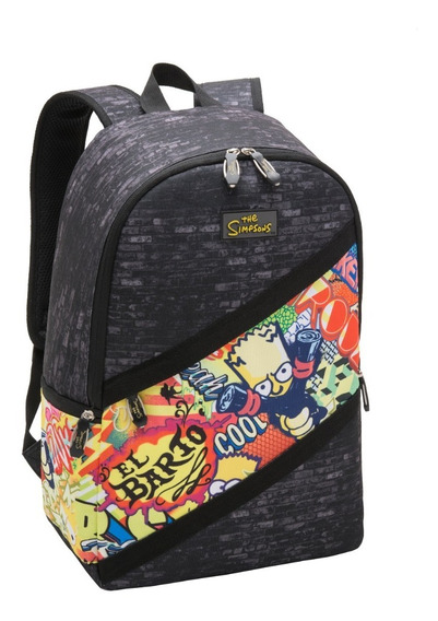 Mochila Costas G Simpsons Prankstar - Pacific