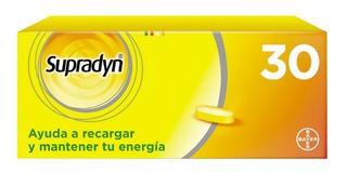 Supradyn Bayer 30 Comprimidos Vitaminas Minerales Energía