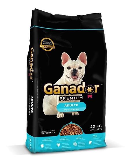 Ganador Premium Alimento Para Perro Razas Pequeñas Bulto 20