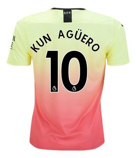 Camisa Manchester City Oficial Personalizada