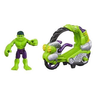 Marvel Playskool Heroes Super Hero Adventures Hulk Figure W