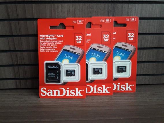 Cartão Memoria Sdhc Sandisk 32gb