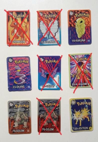 Tazos Elma Chips Pokemon Cards 1999 - Avulsos