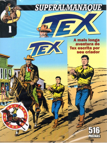 Superalmanaque Tex Ed Limitada 1 Mythos Bonellihq Cx490 O20