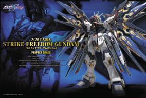 Perfect Grade 1/60 Zgmf-x20a Strike Freedom Gundam