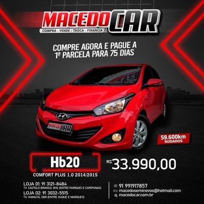 Hb20 Comfort Plus É Na Macedo Car !!!