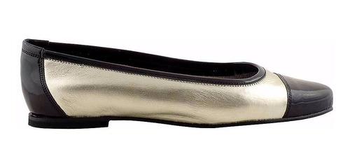 Chatita Mujer Cuero Briganti Zapato Mocasin - Mccha2923