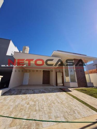 Imagem 1 de 15 de Casa Em Condomínio Para Venda Em Sorocaba, Chácara Ondina, 3 Dormitórios, 3 Suítes, 4 Banheiros, 2 Vagas - Cac654_1-1930235