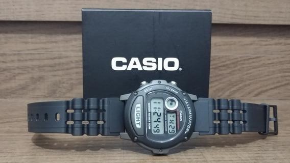 Relógio Casio W87h1vhdr Preto